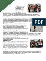 15 Bailes o Danzas de Guatemala