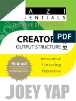 Joey Yap - BaZi Essentials - Creators (Output Structure)