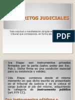 Escrito Judiciales