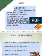 Libros que hay en los juzgados argentinos