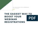 5 Ways to Double Your Sales With Webinars Registration Bonus