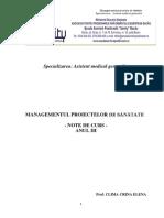 Suport de Curs Managementul Proiectelor de Sanatate (1)