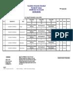 Ph.D English 2nd (Fall 2018) Notification