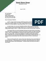 Rob Manfred Netting Letter