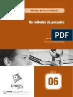 Os métodos de pesquisa.pdf