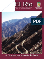 El Río. A Picachos por la Cuesta de Cantú. Año VII número 25 Julio-Septiembre de 2014. Sociedad de Historia Centenario de Mexicali AC