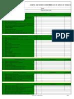 Check List 49 Condiciones Básicas de Terreno