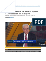 3019 06 18 Dow surges more than 350 points on hopes for a China trade deal and an easy Fed.docx