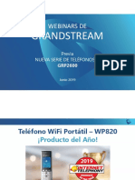 Presentación Webinar Nuevos Teléfonos IP Grandstream GRP261X- Junio 2019