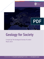 Geology for Society Final Version v3 March 2014