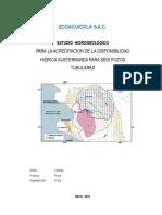 Estudio Hidrogeologico ECOACUICOLA 2015