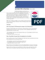Campaign 2010 | Facebook Fans Help Predict Wins