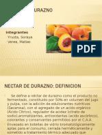 Nectar de Durazno