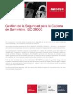 Presentacion Gestion de La Seguridad Para La Cadena de Suministro Iso 28000