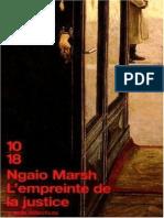 Marsh, Ngaio - 18 - L'Empreinte de La Justice (1955)