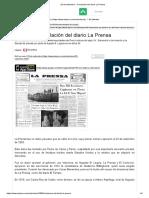 23 de Setiembre - Circulación Del Diario La Prensa