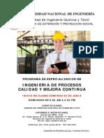 Brochure de Ingenieria de Procesos Calidad y Mejora Continua Web Uni 09-06-2019 v2