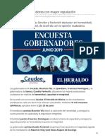 26-06-2019 El Top de gobernadores con mayor reputación-El Heraldo