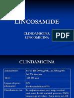 LINCOSAMIDE-tetraciclina