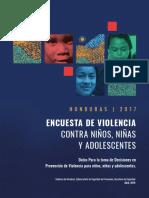 Encuesta de Violencia Contra Niños, Niñas Adolescentes