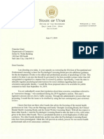 Giani, Francine DOPL Conversion Therapy Letter June 17, 2019