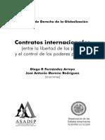 Contratos internacionales (Entre la libertad de las partes y el control de los poderes).pdf