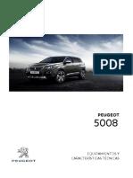 Ficha Tecnica Peugeot 5008 2019
