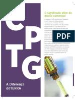 CPTG - Certificado de Pureza e Grau Terapêutico - A Diferença DōTERRA
