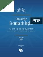 How to Choose an English Language School ES