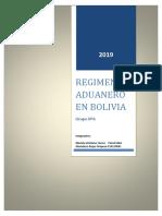 Regimen Aduanero en Bolivia