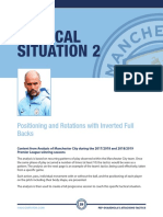 Pep Guardiola Attacking Tactics Positioning and Rotations With Inverted Full Backs