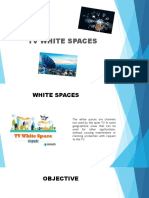 Tv White Spaces Proyect
