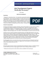 2017-12 is Gender Reassignment Surgery Med Necessary PSS EF17L29 PDF Online