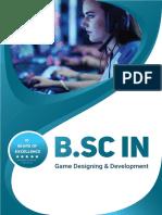 b.sc in Game Designing