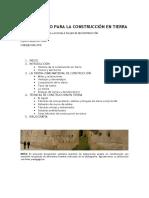 Guía de construcción en tierra