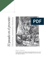 CHARTIER, Roger El Pasado en El Presente Literatura, Memoria e Historia