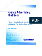 How to Create Advertising That Sells T - Joe Vitale