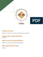 Caso Implementación de Políticas Públicas