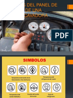 Simbolos Del Panel de Control de Una Retroexcavadora.