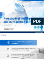 20131212 Perspectives for Wipro BPO - Re-igniting Growth v2