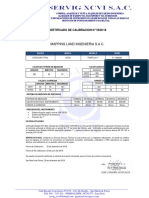 N 5940 Certificado de Calibracion Esta Leica