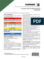 360244_Shift Actuator Kit PN 5010335