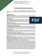 Ficha Tecnica Longyear Md-geo