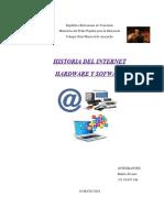 Computacion Historia Del Internet Hardware y Software-rubenramms