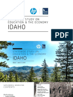 HP IBE Statewide Study on Education and the Economy