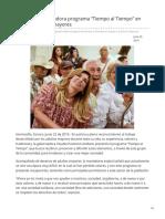 22-06-2019 Presenta Gobernadora Programa Tiempo Al Tiempo en Apoyo a Adultos Mayores-Canal Sonora
