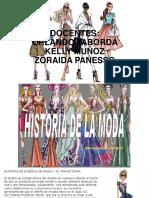 Historia Del Diseño de Modas