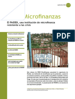 El PAIDEK, Una Institución de Microfinanza Resistente a Las Crisis No 31 SOS Fam