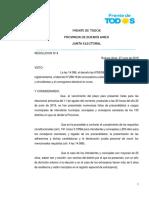 LISTAS OFICIALIZADAS DEL FRENTE DE TODOS
