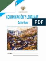 Guia comunicacion y lenguaje 5to grado.pdf